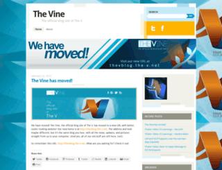 thevonline.wordpress.com screenshot