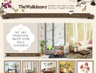 thewalldecors.com screenshot