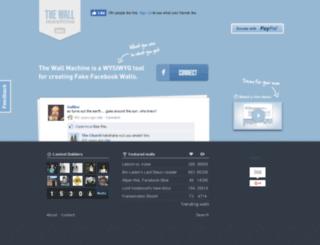 thewallmachine.com screenshot
