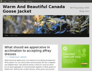 thewarmjacket.blog.com screenshot