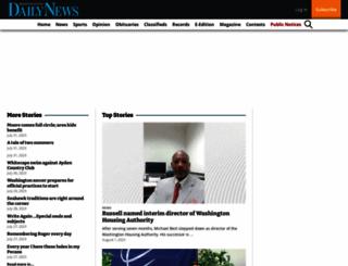 thewashingtondailynews.com screenshot