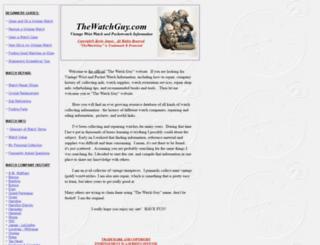 thewatchguy.homestead.com screenshot