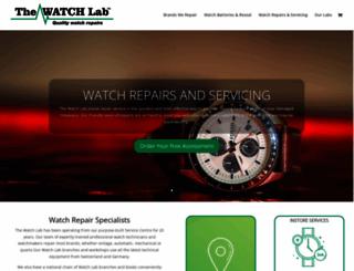 thewatchlab.co.uk screenshot