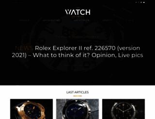 thewatchobserver.com screenshot