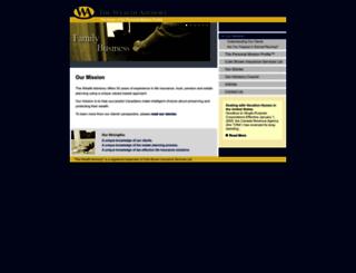 thewealthadvisory.com screenshot
