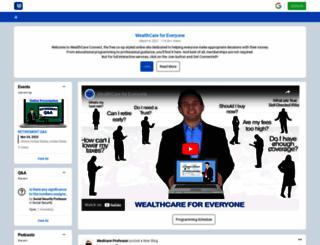 thewealthcarecenter.com screenshot