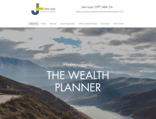 thewealthplanner.com screenshot