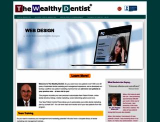 thewealthydentist.com screenshot