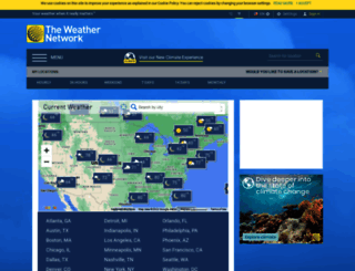 theweathernetwork.com screenshot