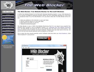 thewebblocker.com screenshot