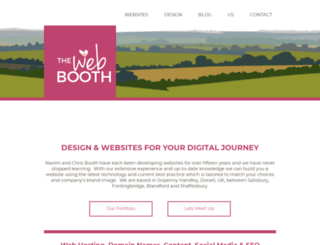 thewebbooth.co.uk screenshot