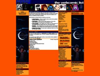 thewebcomiclist.com screenshot