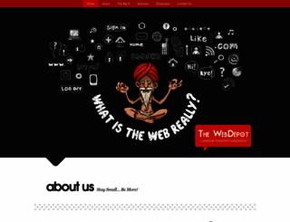 thewebdepot.in screenshot