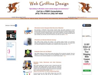 thewebgriffins.com screenshot