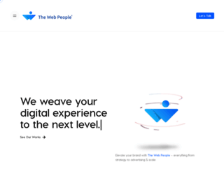 thewebpeople.in screenshot