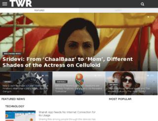 thewebreporters.com screenshot