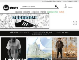 thewebshoes.com.br screenshot
