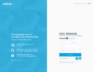 thewebtalker.com screenshot