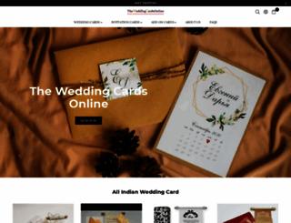 theweddingcardsonline.com screenshot