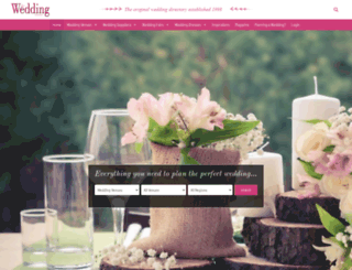 theweddingdirectory.co.uk screenshot