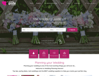 theweddingguideuk.com screenshot