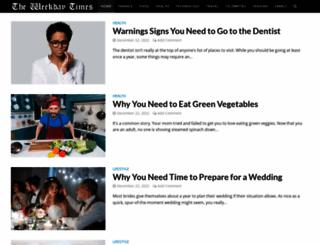 theweekdaytimes.com screenshot