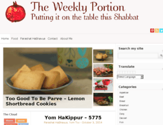 theweeklyportion.com screenshot