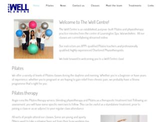 thewellcentre.org.uk screenshot