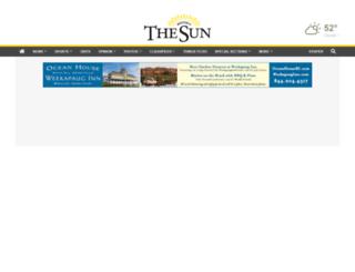thewesterlysun.mycapture.com screenshot