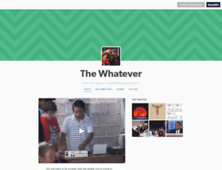 thewhatever.com screenshot