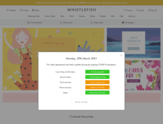 thewhistlefish.com screenshot