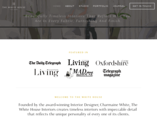thewhitehouseinteriors.com screenshot