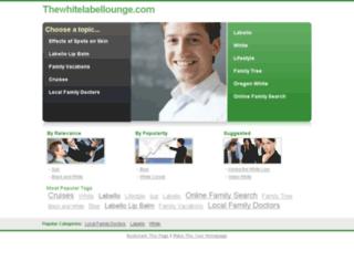 thewhitelabellounge.com screenshot