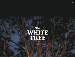 thewhitetree.com.au screenshot