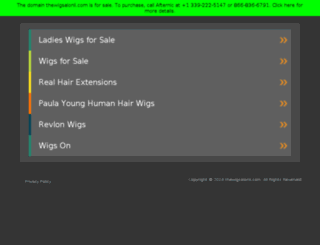 thewigsalonli.com screenshot