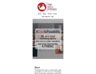 thewildpitches.com screenshot