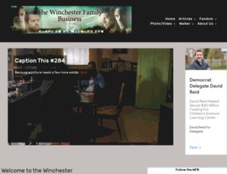thewinchesterfamilybusiness.com screenshot