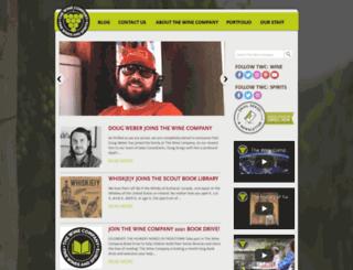 thewinecompany.net screenshot