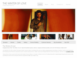 thewinteroflove.co.uk screenshot