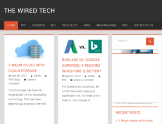thewiredtech.com screenshot