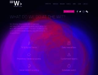 thewit.com screenshot