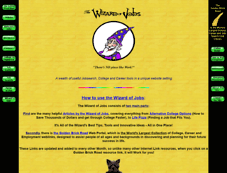thewizardofjobs.net screenshot