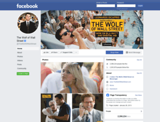 thewolfofwallstreet.com screenshot