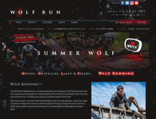 thewolfrun.com screenshot