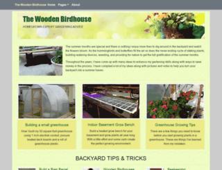 thewoodenbirdhouse.com screenshot