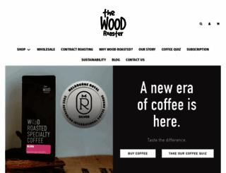 thewoodroaster.com screenshot