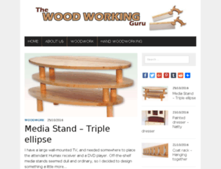 thewoodworkingguru.com screenshot