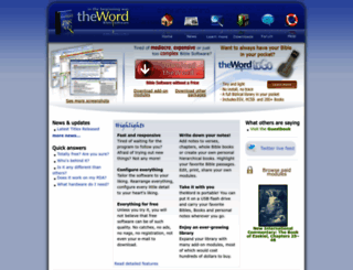 theword.net screenshot