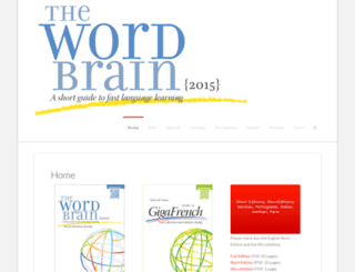 thewordbrain.com screenshot