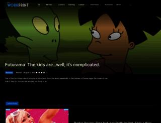 theworkprint.com screenshot